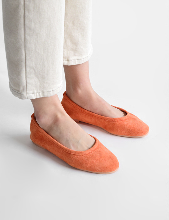 SUEDE FLAT SHOES (7COLOR)