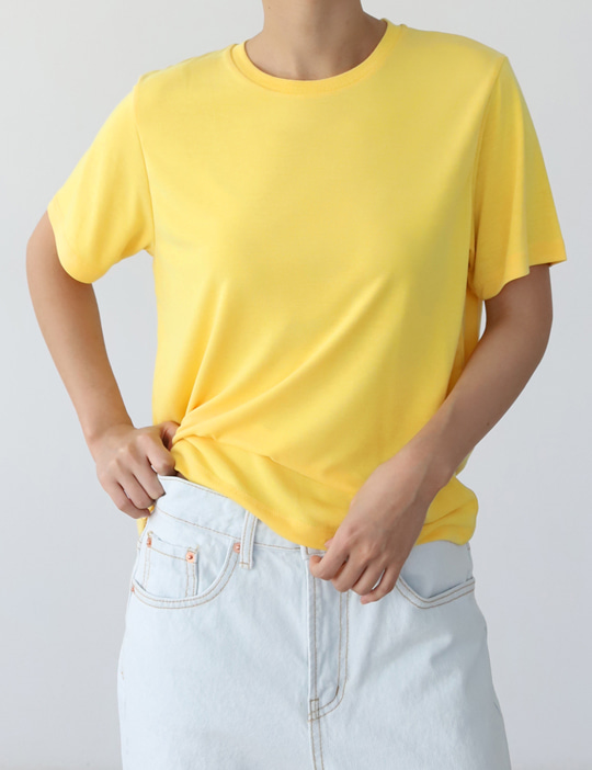 SOFT MODAL TEE (4COLOR)