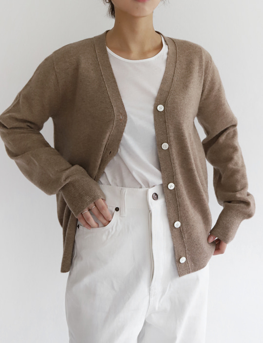 MA WOOL CARDIGAN (5COLOR)