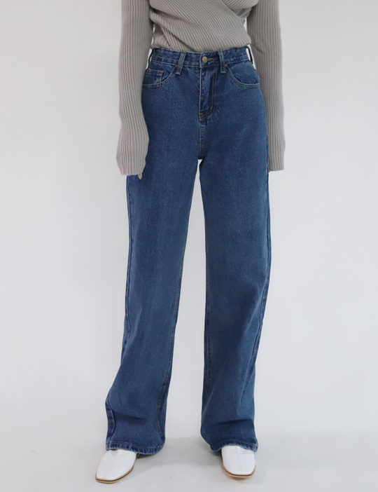 [STOCK SALE] ALL STRAIGHT DENIM PANTS (3COLOR)