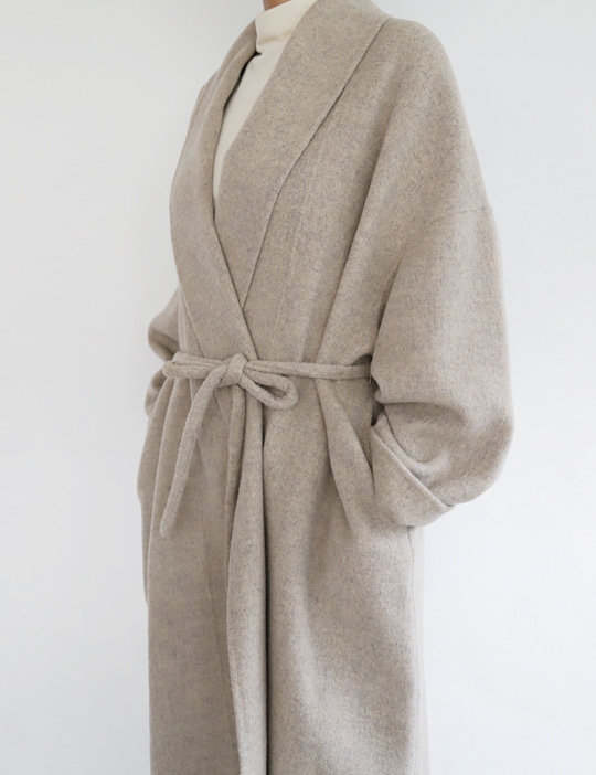 ROBE HANDMADE COAT (2COLOR)
