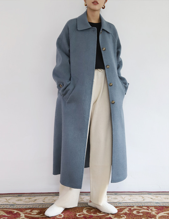 MAGAZINE  HANDMADE COAT (2COLOR)