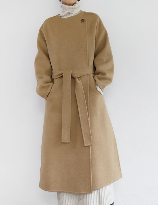 GRACE HANDMADE COAT (2COLOR)