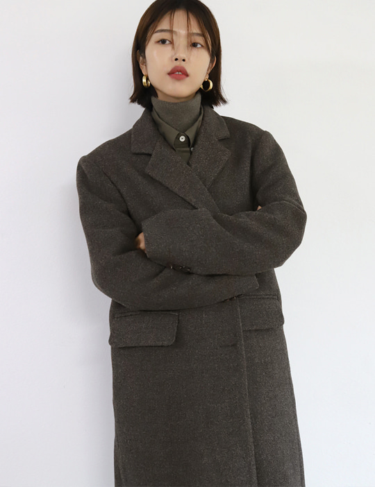 FRECH WOOL COAT (2COLOR)