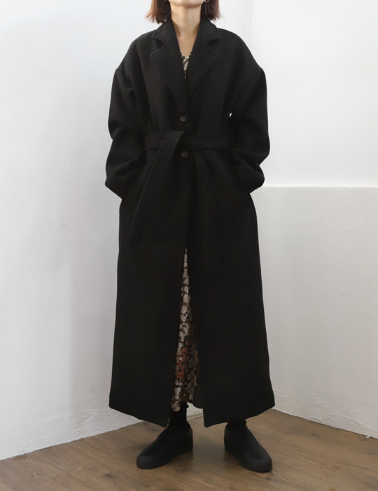 UNDER WOOL COAT (3COLOR)