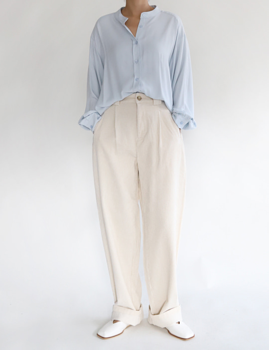 [stock sale] LOOSE CORDUROY PANTS (2COLOR)