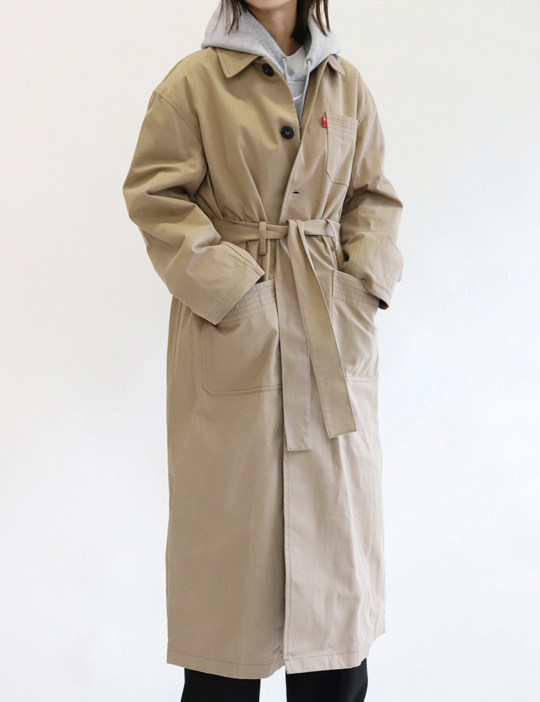 [SALE] MILITARY TRENCH COAT (3COLOR)