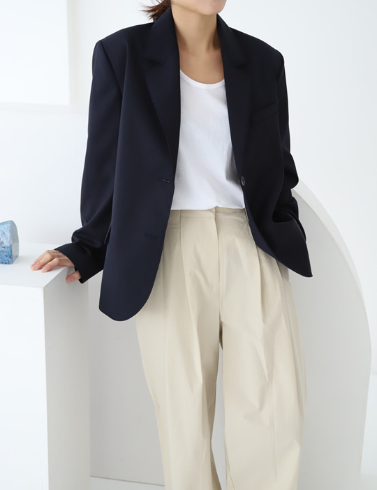 DRESSING SHORT JACKET (3COLOR)