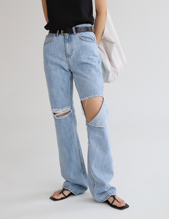 [stock sale] GRUNGE DENIM PANTS
