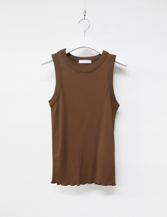 [stock sale] ROUND GOLGI SLEEVELESS (6COLOR)