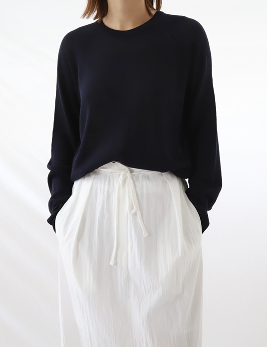 CAFE LINEN ROUND KNIT (5COLOR)