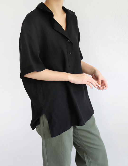 OPEN-COLLAR SHIRTS (4COLOR)