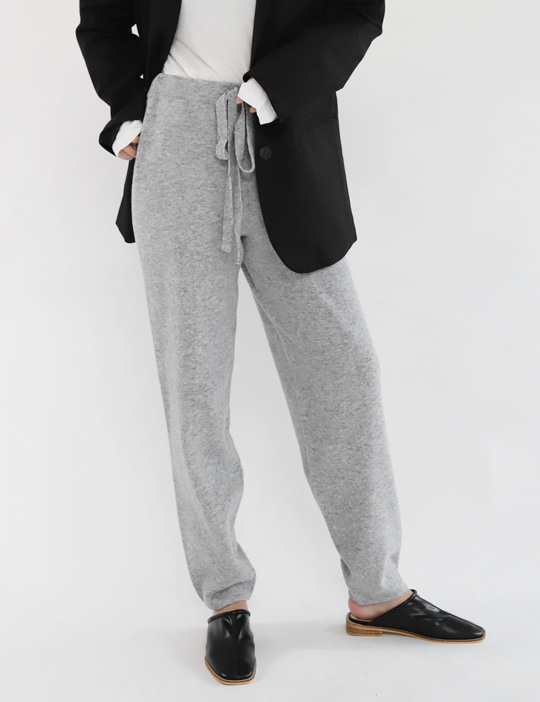 WANT KNIT JOGGER PANTS (3COLOR)